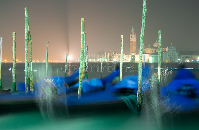 's nachts Venetië