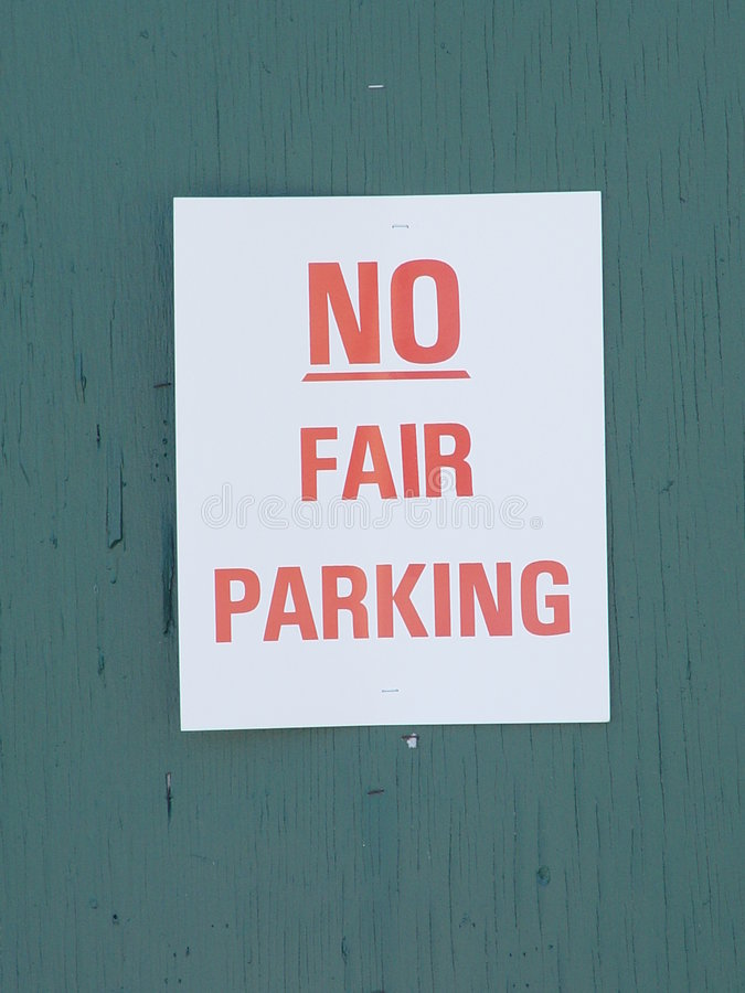 Download It's Not Fair stock photo. Image of location, post, warning - 25942