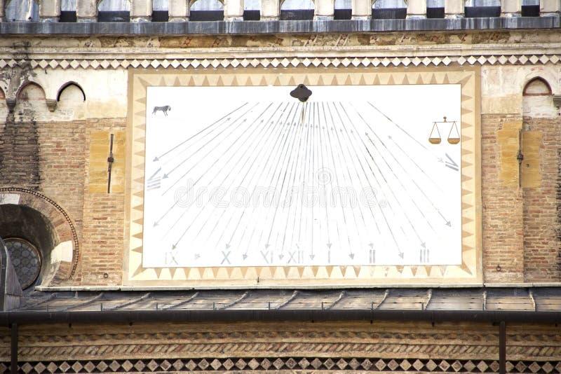 S?o?ce tarcza w Padua obraz royalty free