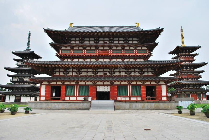 S'ouvrir au public du temple de Yakushi photos libres de droits