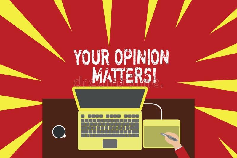 S?owa writing tekst Tw?j opinii sprawy Biznesowy poj?cie dla przedstawienia ty ty no zgadzasz si? z co? kt?ry w?a?nie m?wi? ilustracji