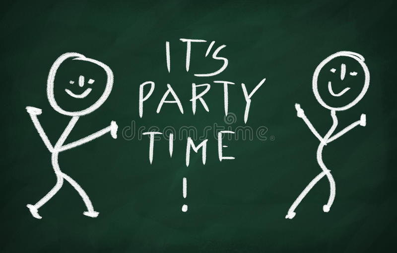 It's party time! royalty free illustration