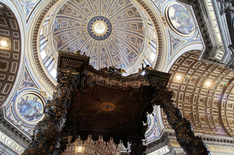 Download S.Peter Cathedral stock photo. Image of dome, high, italian - 25415182