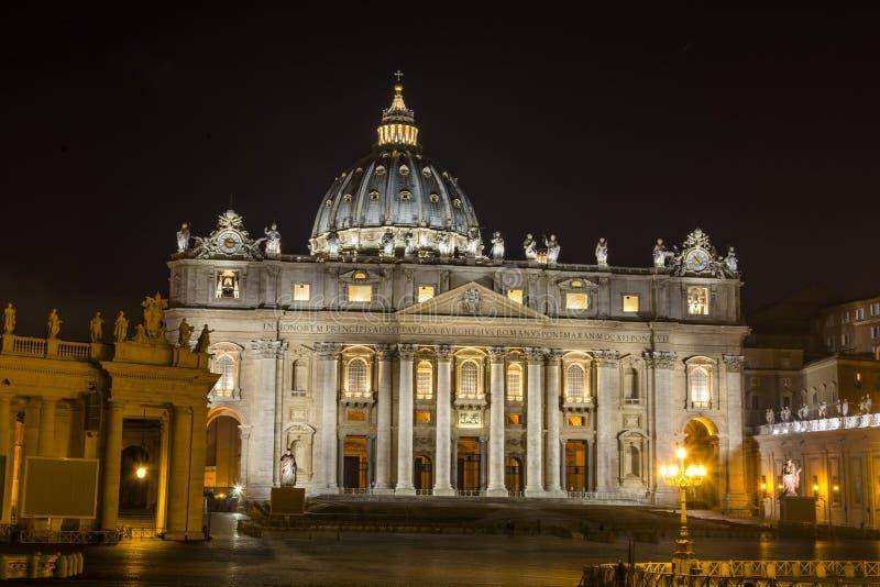 S Pietro VATIKAN Haus Papstes lizenzfreies stockbild