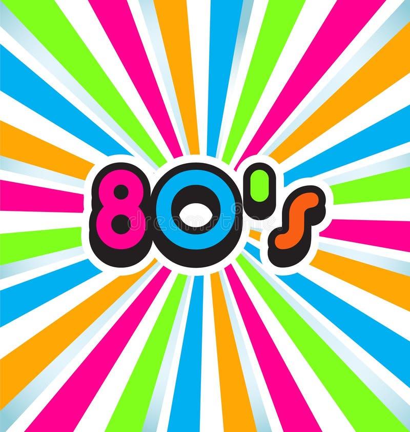 Download 80s Pop Art Background stock vector. Image of image, compilation - 33684158