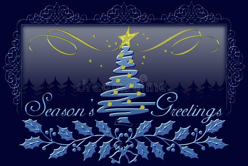 s powitań sezonu ilustracja wektor