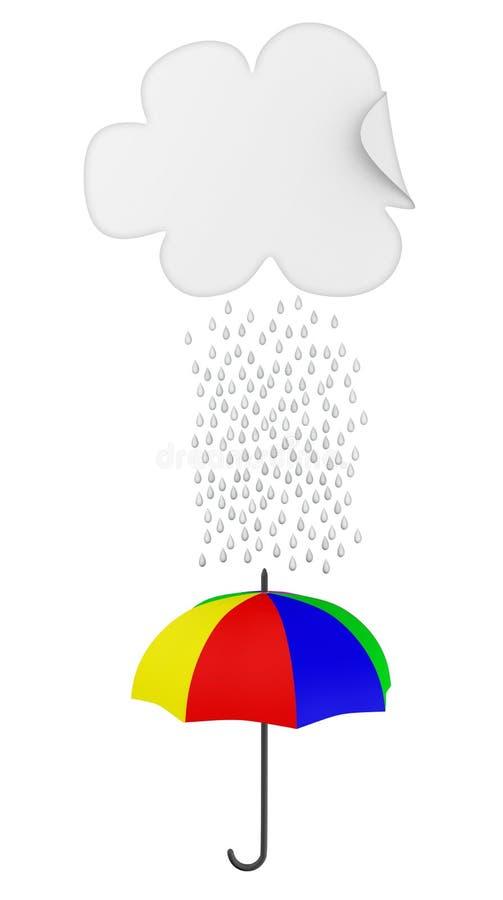 Download It's raining stock illustration. Illustration of nature - 22148684