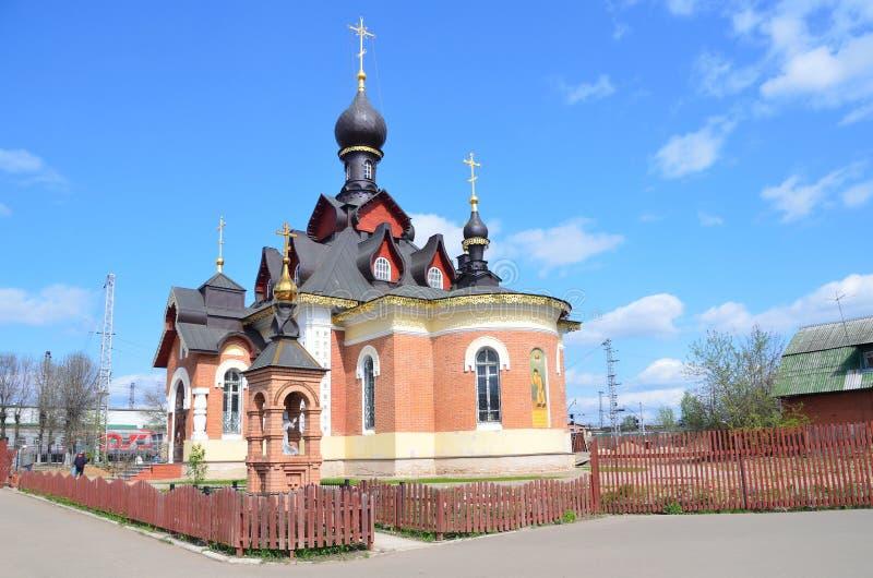 S?raphin de St d'?glise de Sarov en Alexandrov photos stock
