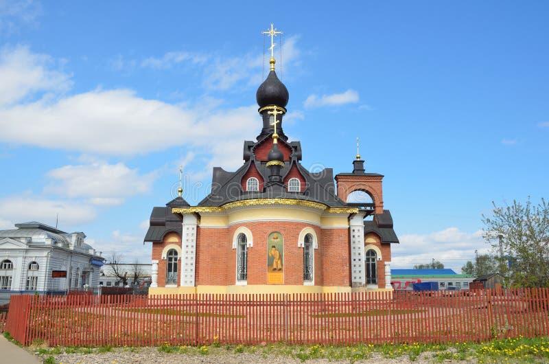 S?raphin de St d'?glise de Sarov en Alexandrov images stock