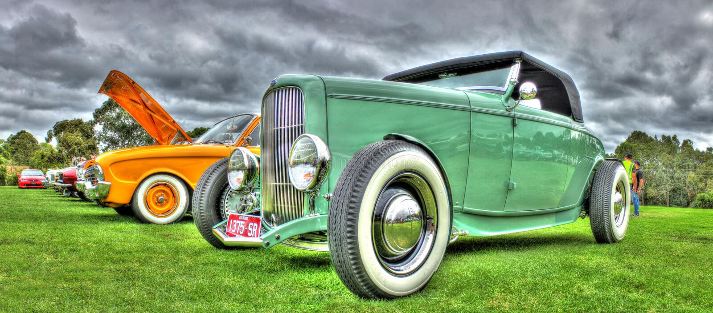 1930s rocznik Ford zdjęcie royalty free