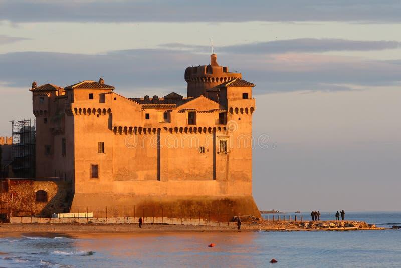 S. Severa Castle stock fotografie