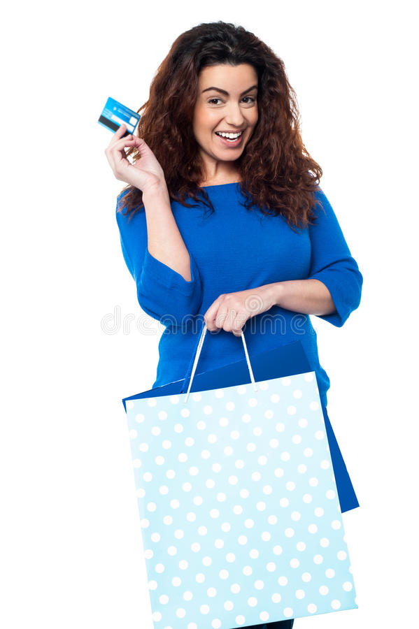 Download It's shopping time stock photo. Image of background, card - 28570442