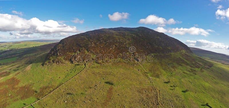 ` S Slemish Mpintain St Patrick Hügel Co Antrim Nordirland stockbilder
