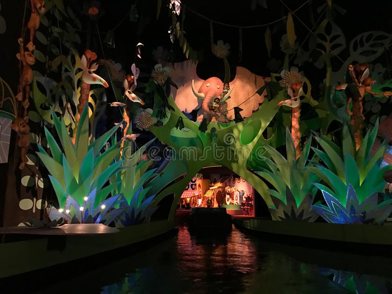 It`s A Small World Ride, Walt Disney World, Florida. It`s a Small World Ride at Walt Disney World in Orlando, Florida stock photography
