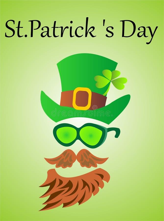 День St. Patrick иллюстрация вектора