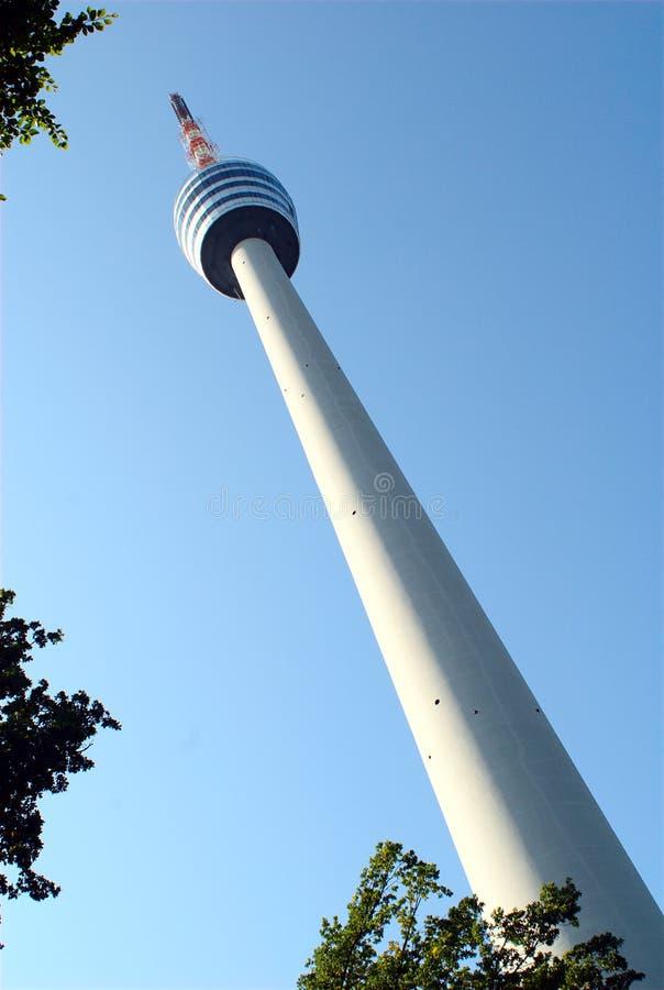s Stuttgart basztowy tv zdjęcia stock