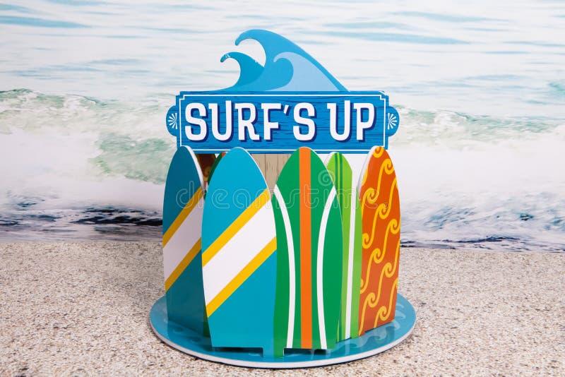 s surfować, zdjęcie stock