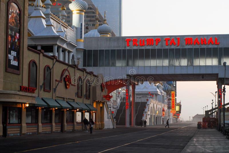 ` S Taj Mahal do trunfo, Atlantic City, NJ imagem de stock