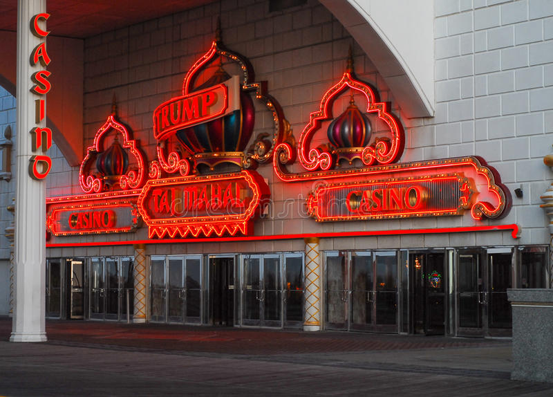 ` S Taj Mahal do trunfo, Atlantic City, NJ imagem de stock royalty free
