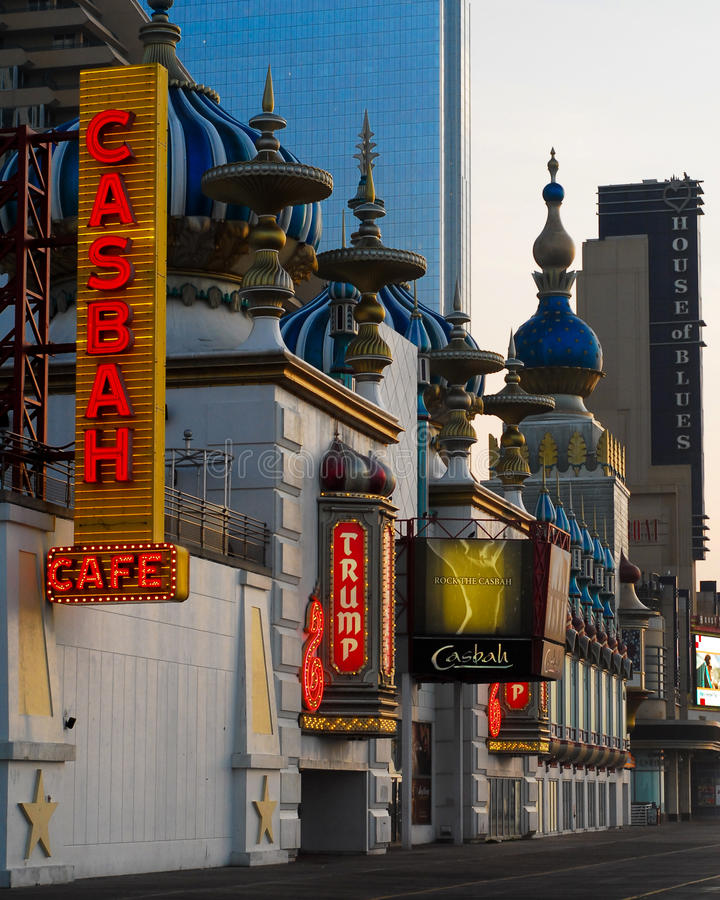 ` S Taj Mahal do trunfo, Atlantic City, NJ fotografia de stock royalty free