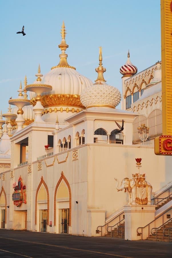 ` S Taj Mahal do trunfo, Atlantic City, NJ imagens de stock