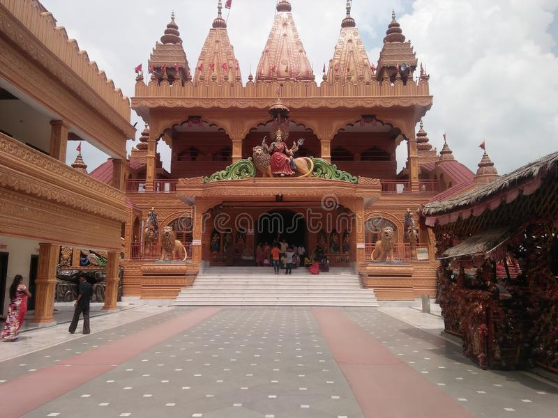 Temple of India. It`s a temple and It`s situated in Uttar Pradesh royalty free stock photo