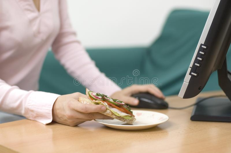 It's time for break stock photography