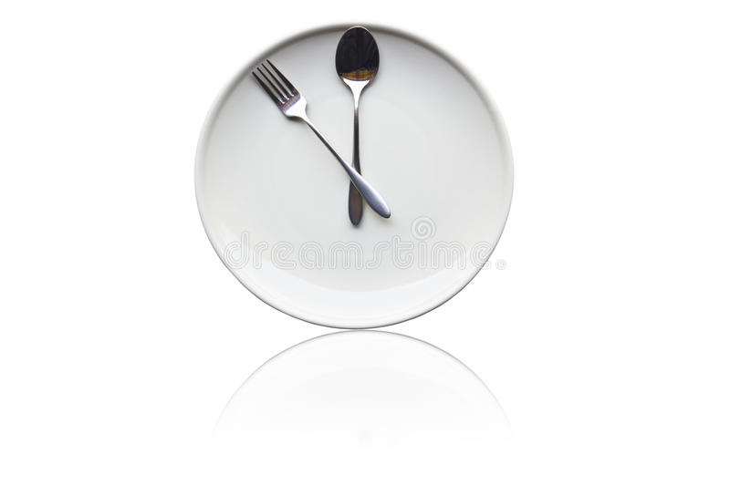 Download It's time for lunch stock image. Image of spoon, time - 20915301