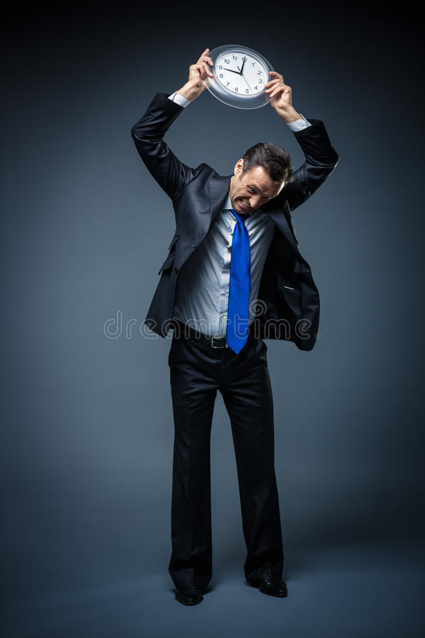 Download It's time stock photo. Image of discontent, caucasian - 39308932