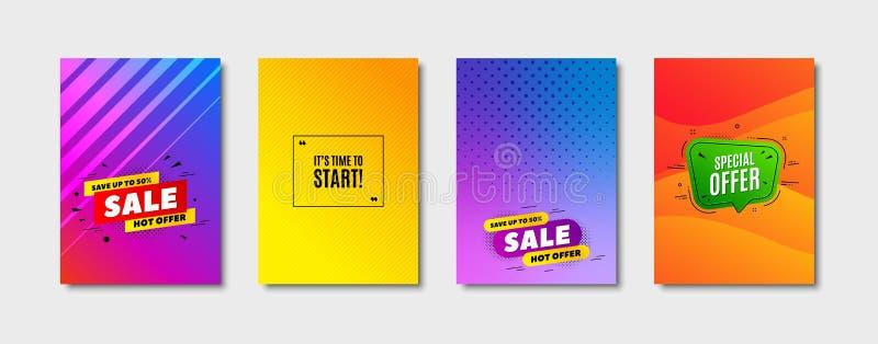 It`s time to start symbol. Special offer sign. Vector. It`s time to start. Cover design, banner badge. Special offer sign. Advertising discounts symbol. Poster vector illustration