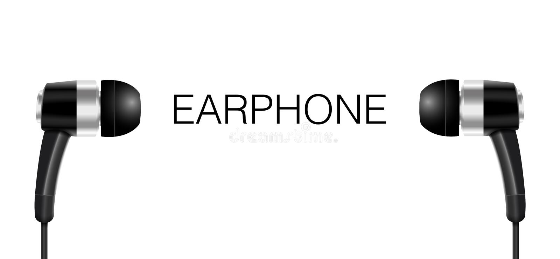 Download Słuchawki Czerni Koloru Wektor Ilustracji - Ilustracja złożonej z kolor, rozrywka: 57652846