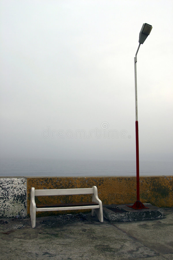 Słup Lampy Kanap Zdjęcia Stock