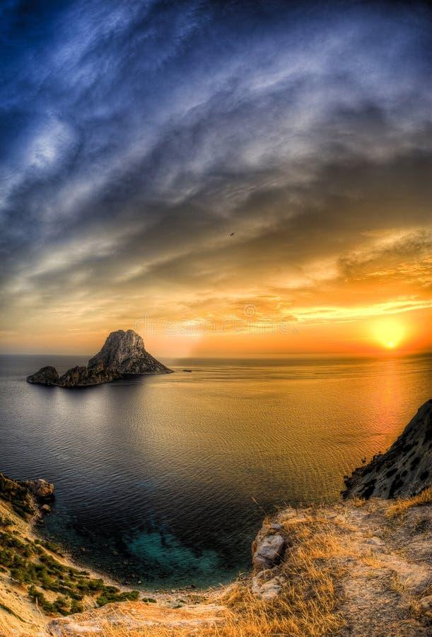 S Vedra - Ibiza stock afbeeldingen
