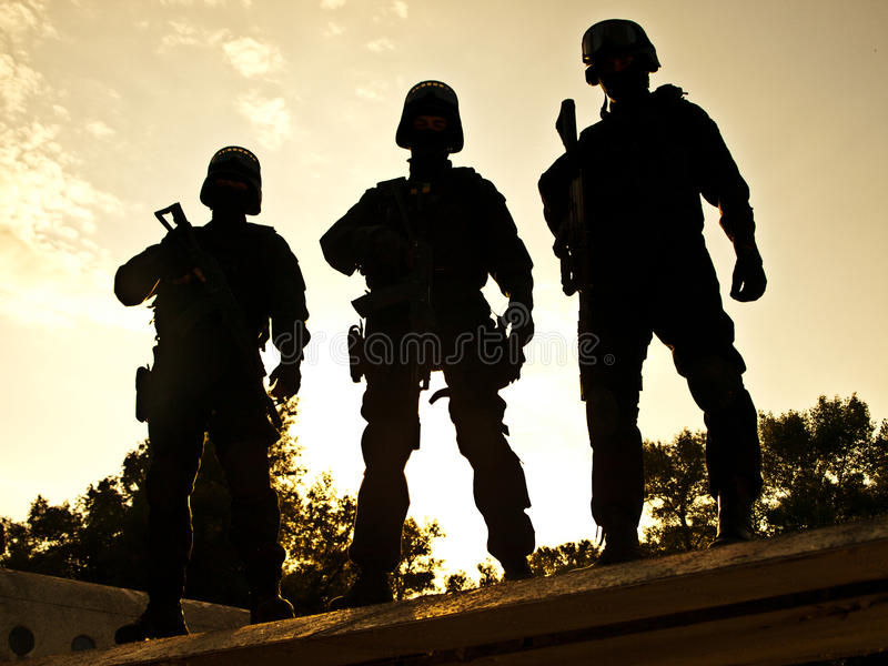 S.W.A.T. stock photo
