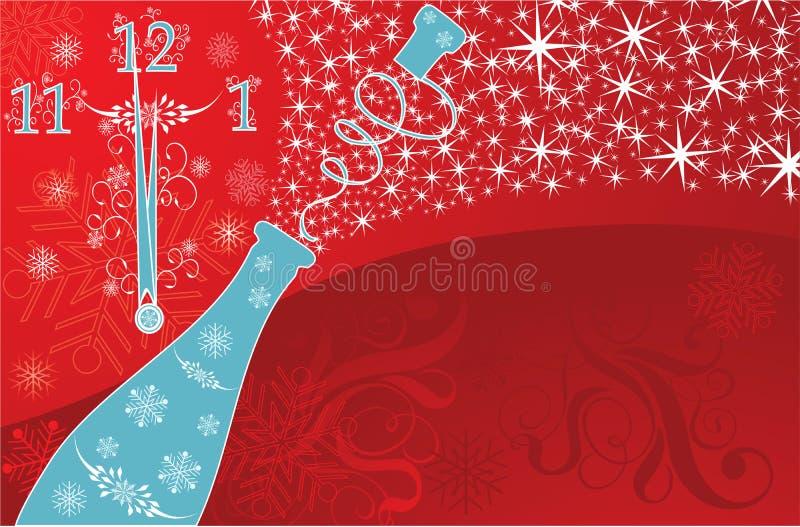 s wektora tła nowego roku ilustracji