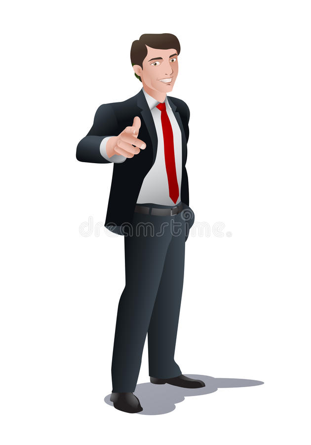 Download It's you! stock illustration. Image of approval, copy - 24549952