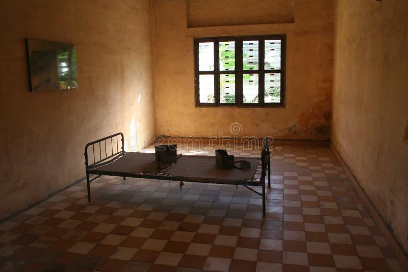 S21 het bed van de Gevangenis stock foto