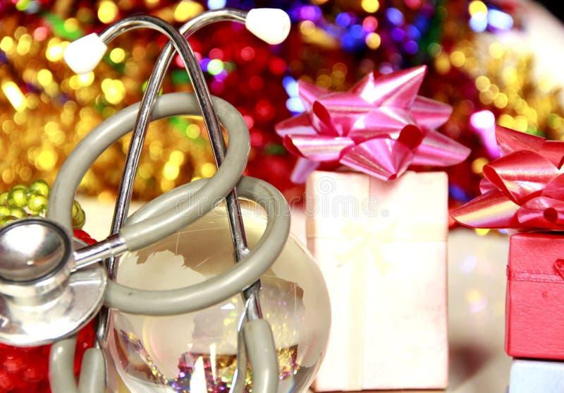 Saúde & cuidados pessoais no Natal fotos de stock