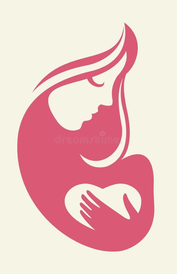 A saúde das mulheres ilustração stock