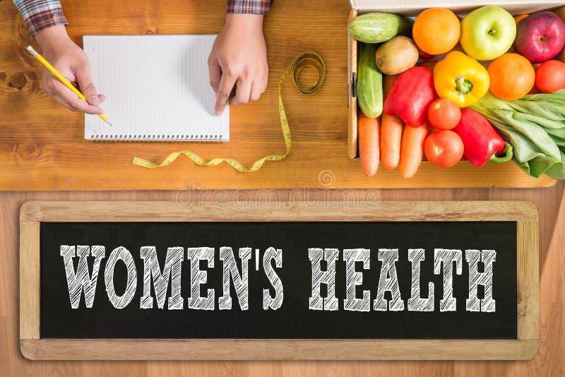 Saúde das mulheres fotografia de stock royalty free