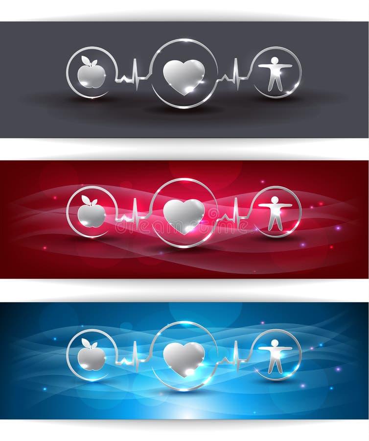 Saúde de Cardiocascular ilustração stock
