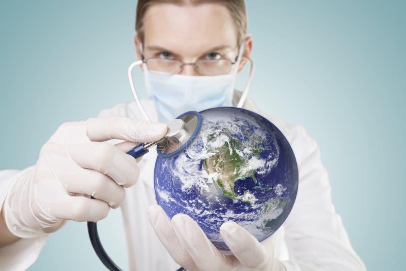 Saúde de nosso homeworld fotografia de stock
