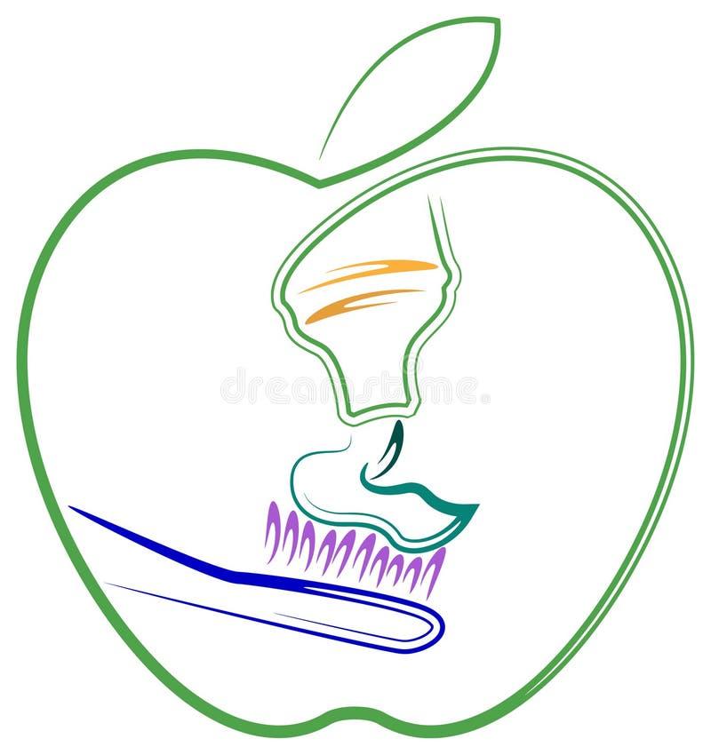 Saúde do dente ilustração royalty free