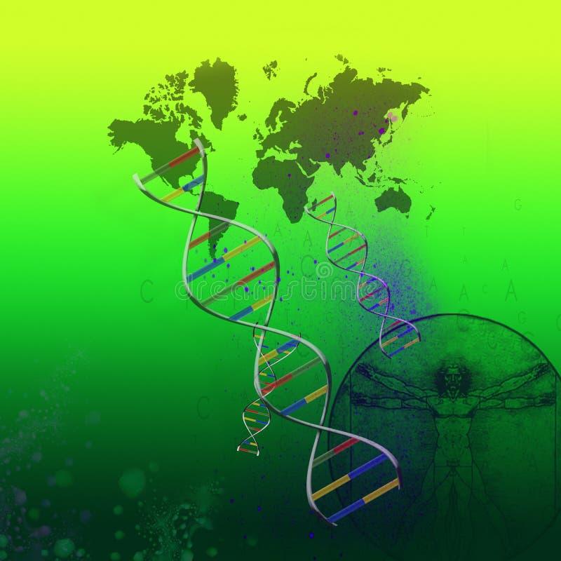 Saúde do Pandemic ou do mundo ilustração royalty free