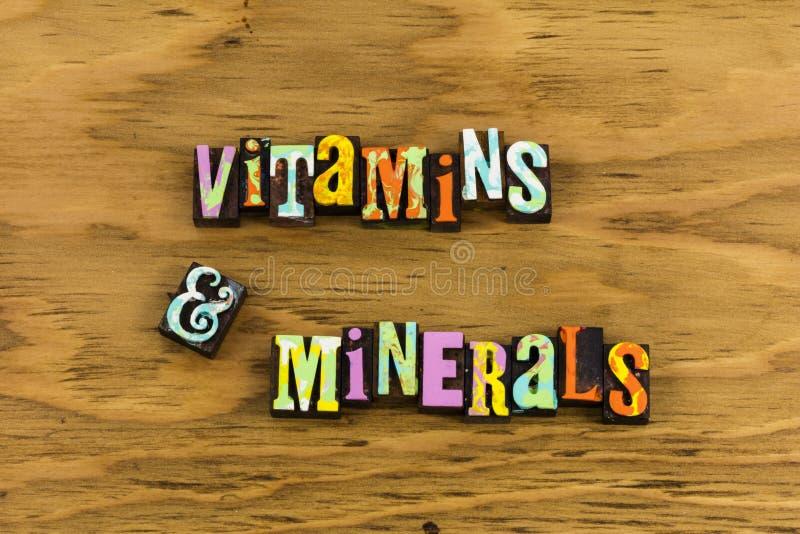 Saúde dos suplementos a minerais das vitaminas fotografia de stock royalty free