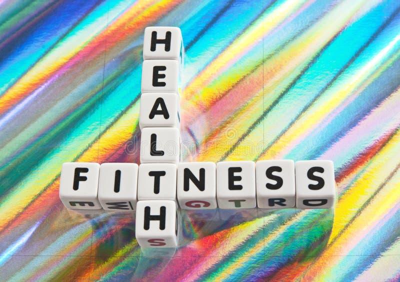 Saúde e aptidão imagens de stock royalty free