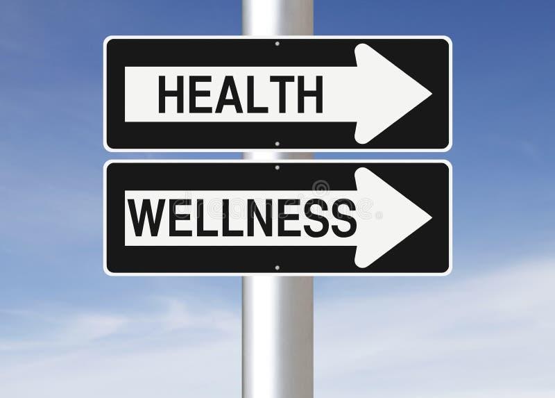 Saúde e wellness ilustração royalty free