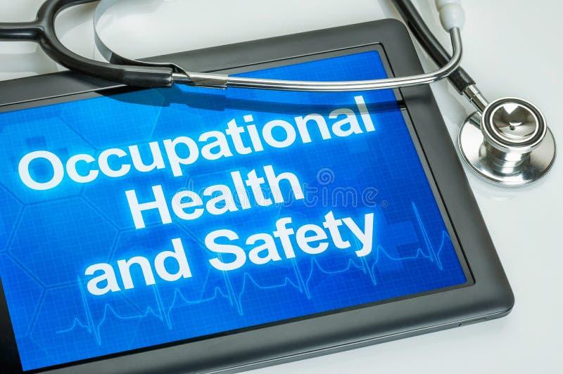 Saúdes e segurança no trabalho imagens de stock