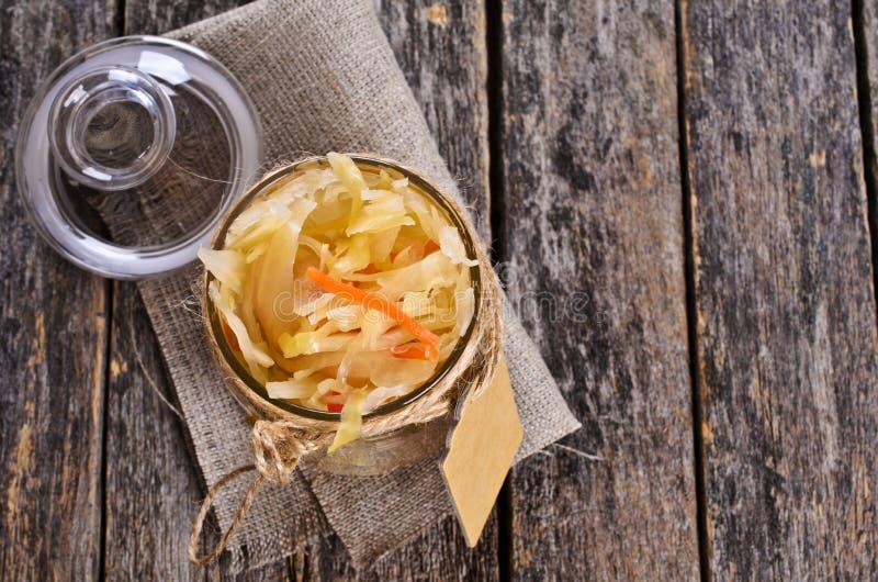 Sałatka sauerkraut zdjęcie royalty free