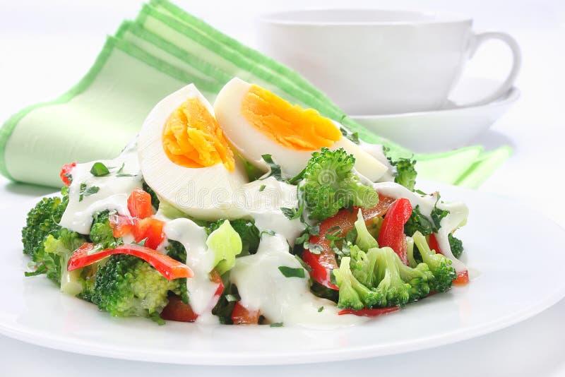 Sałatka z brokułami obraz royalty free